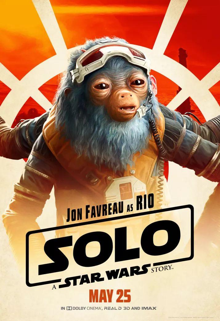 Solo: A Star Wars Story, il character poster di Jon Favreau