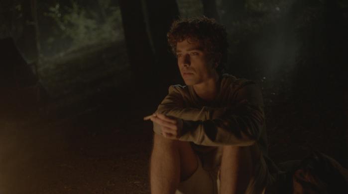 Le grida del silenzio: Luca Avallone in una scena del film