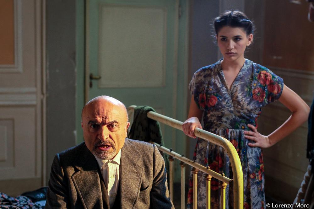 Nobili bugie: Ivano Marescotti e Gaia Bottazzi in una scena del film
