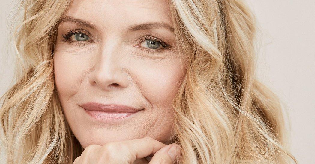 Un primo piano di Michelle Pfeiffer