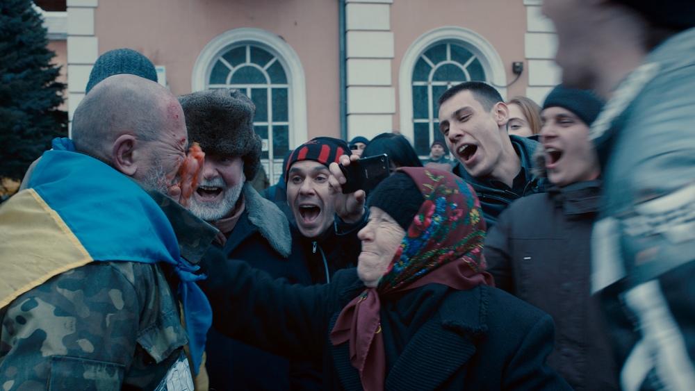 Donbass: un momento del film