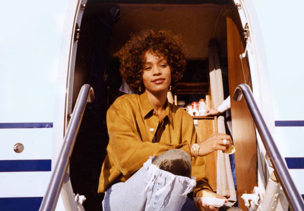 Whitney: un'immagine della Houston tratta dal documentario