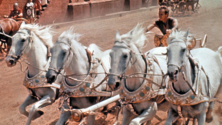 Una scena di Ben Hur