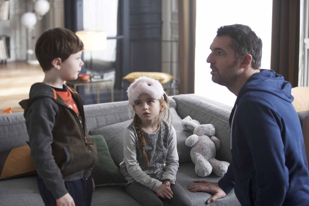 Famiglia allargata: un momento del film