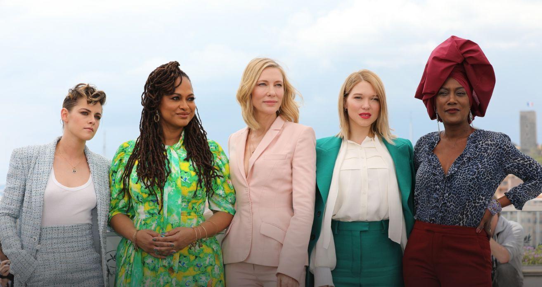 Cannes 2018: Cate Blanchett circondata dalle giurate donne