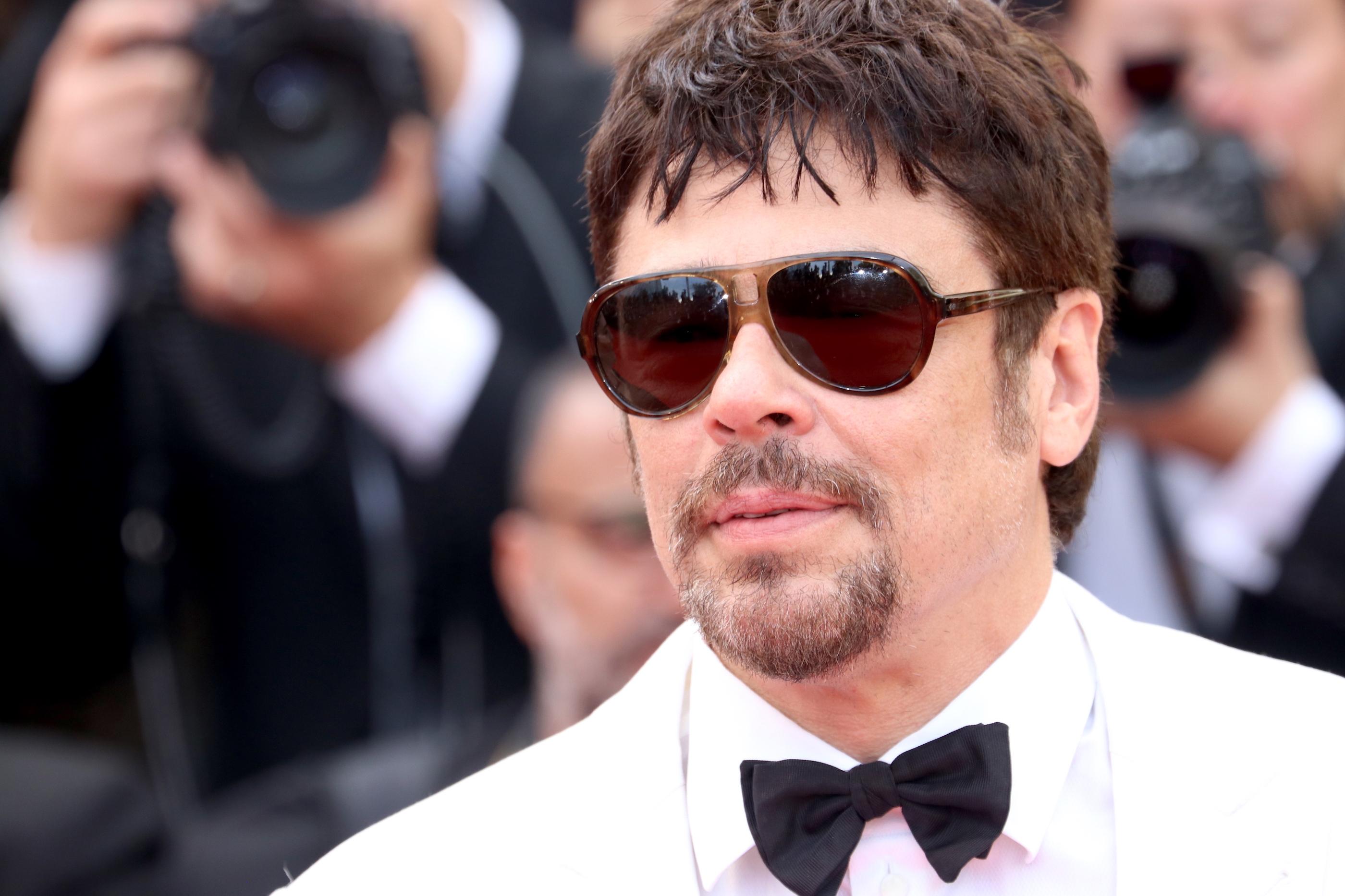 Cannes 2018: Benicio del Toro sul red carpet di apertura