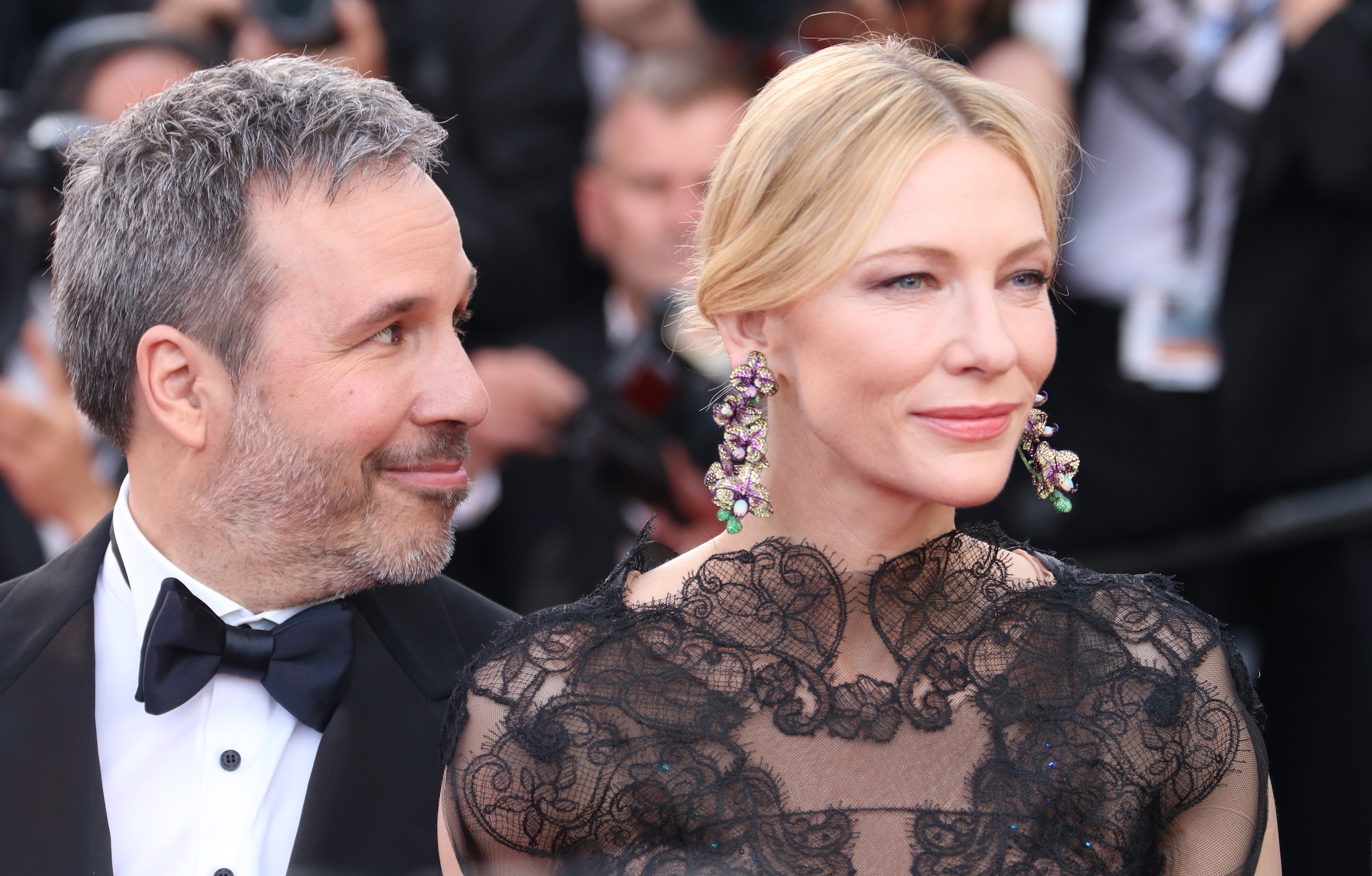 Cannes 2018: Cate Blanchett e Denis Villeneuve in uno scatto sul red carpet di apertura