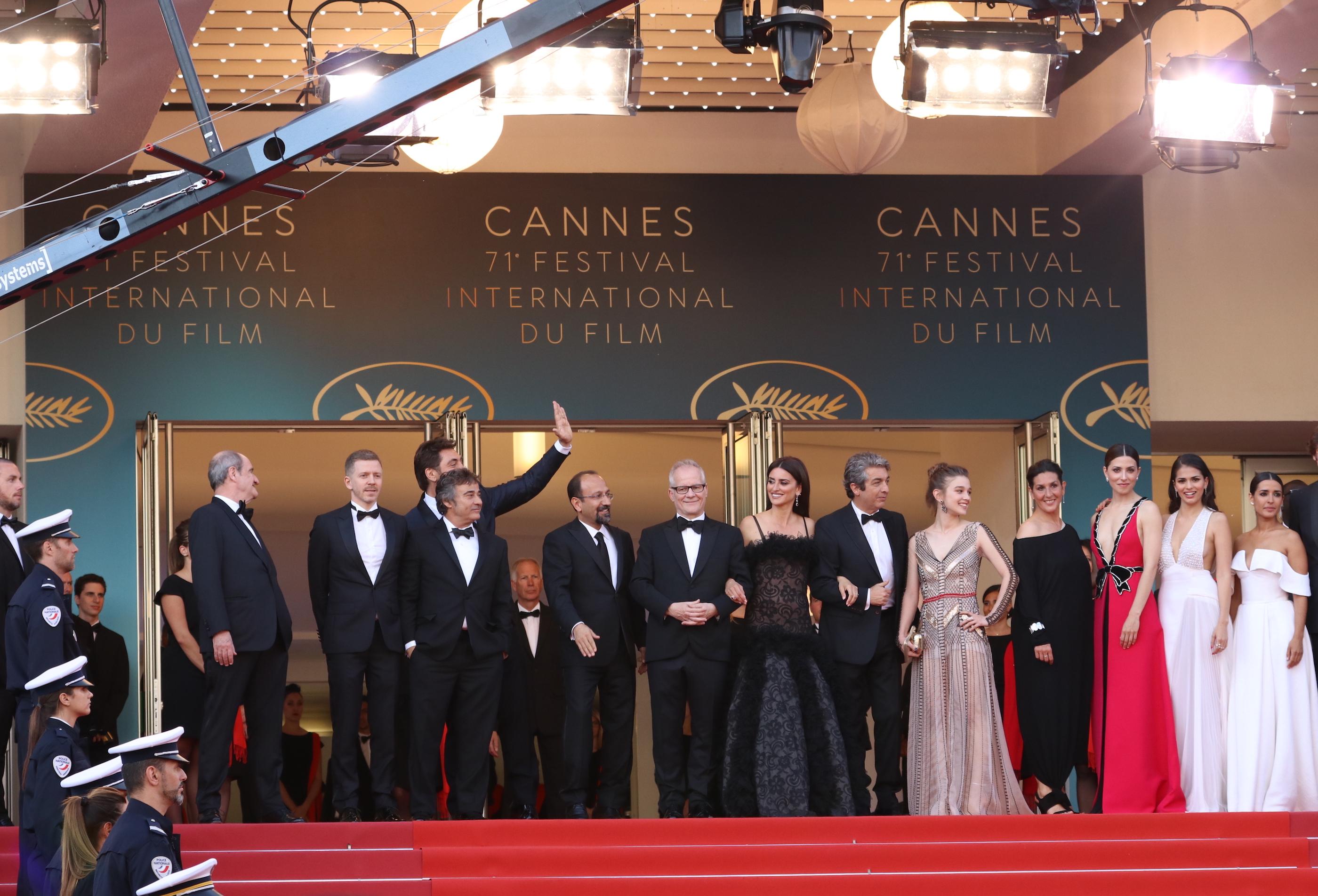 Cannes 2018: il cast del film Everybody Knows sul red carpet di apertura