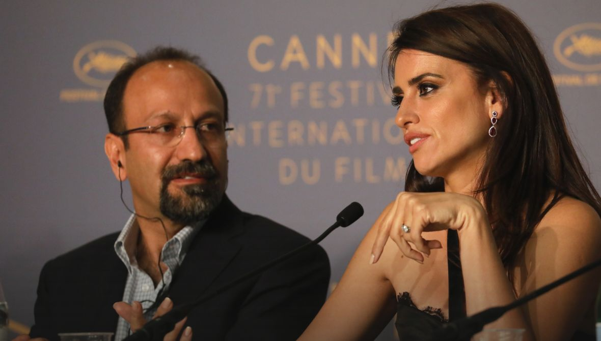 Everybody Knows: Penelope Cruz a Cannes col regista Ashgar Farhadi