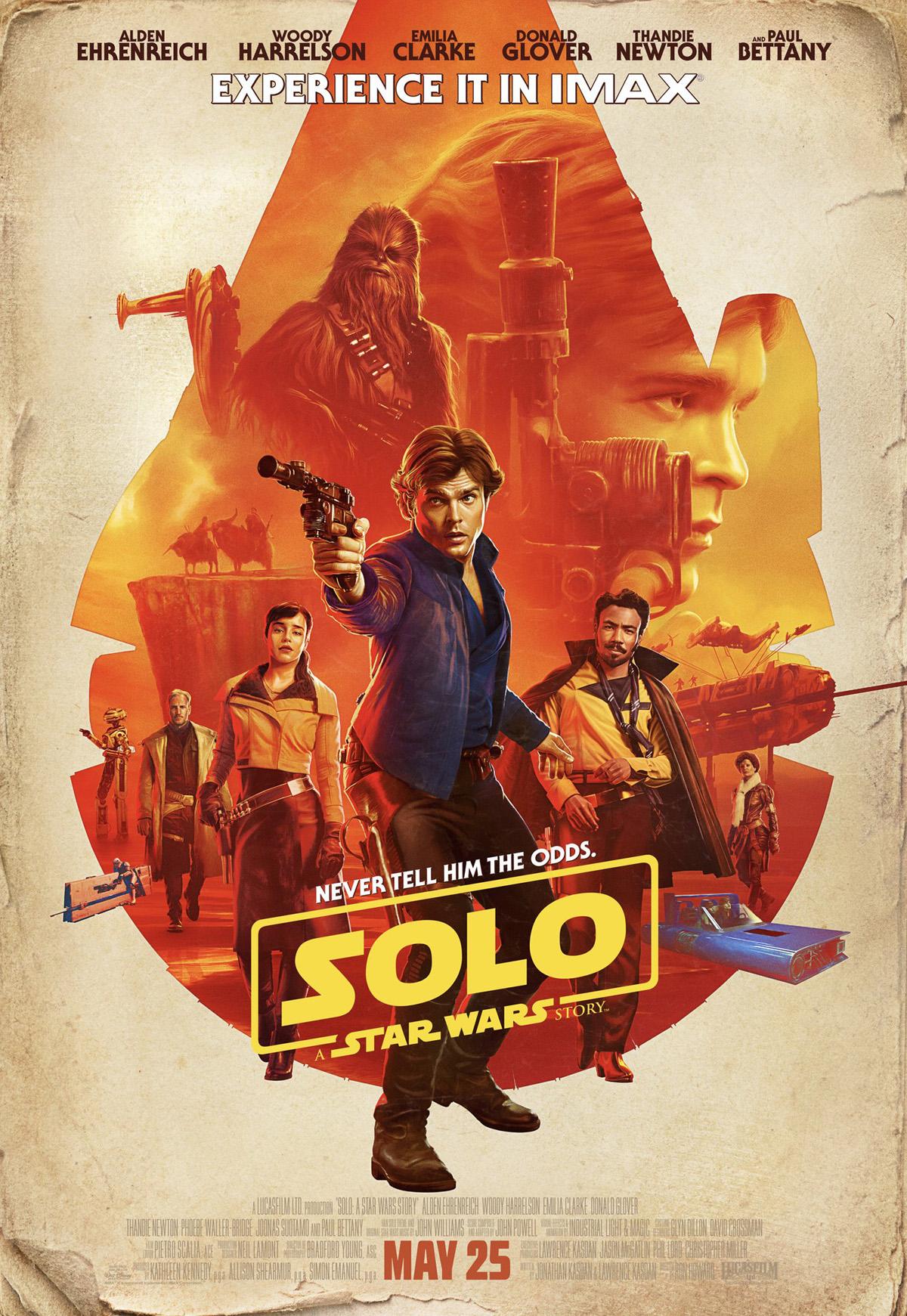 Solo: A Star Wars Story, un poster del film