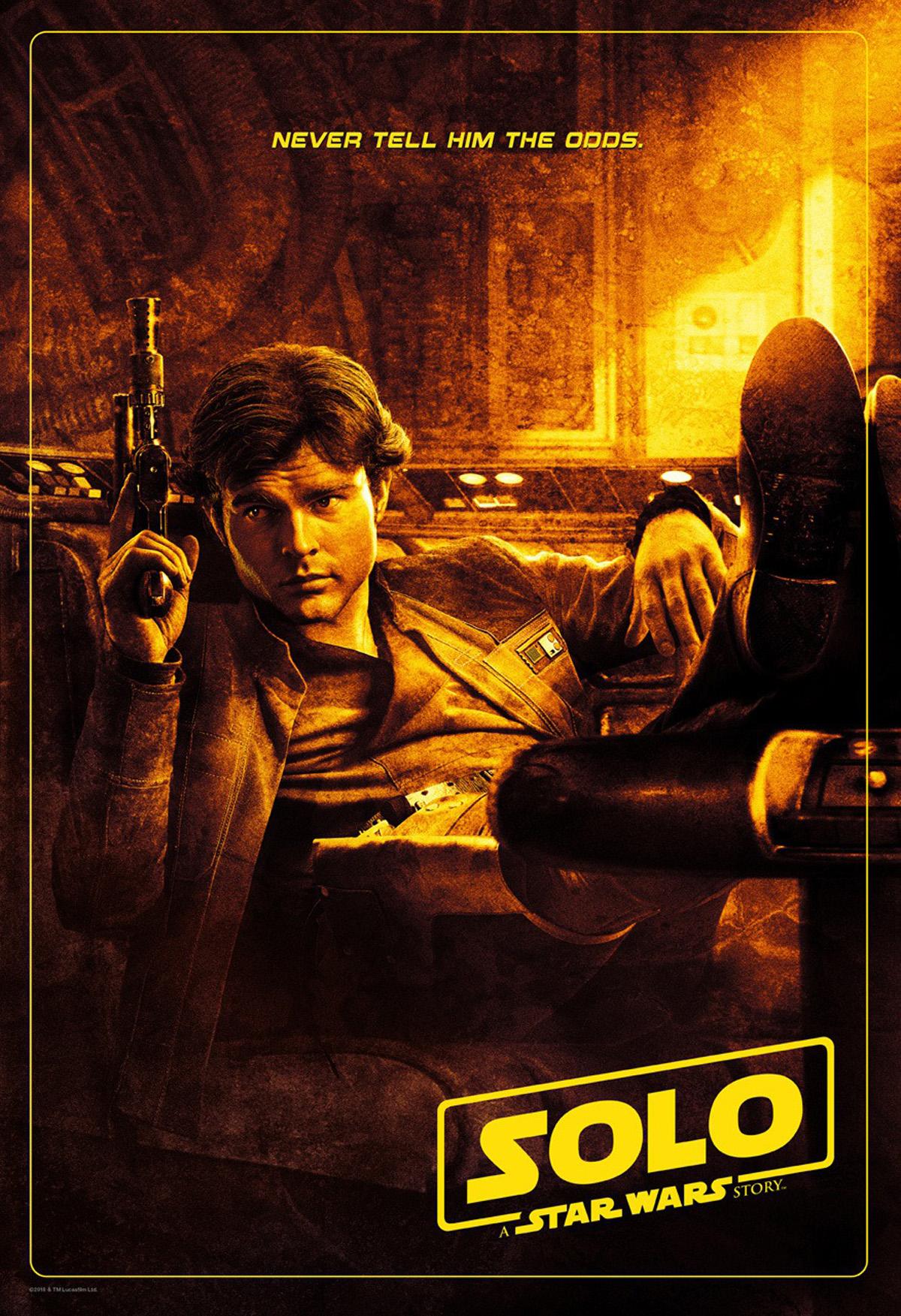 Solo: A Star Wars Story, un nuovo poster del film