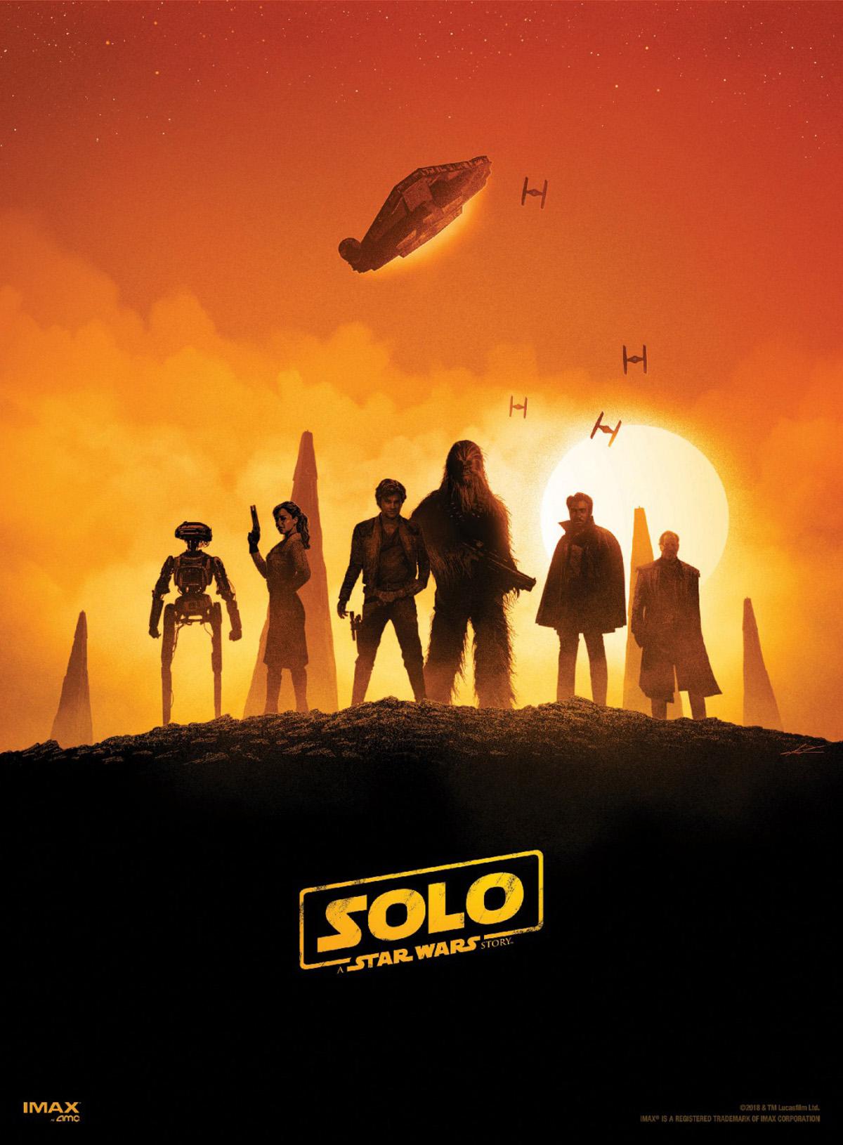 Solo: A Star Wars Story, i protagonisti in un poster del film