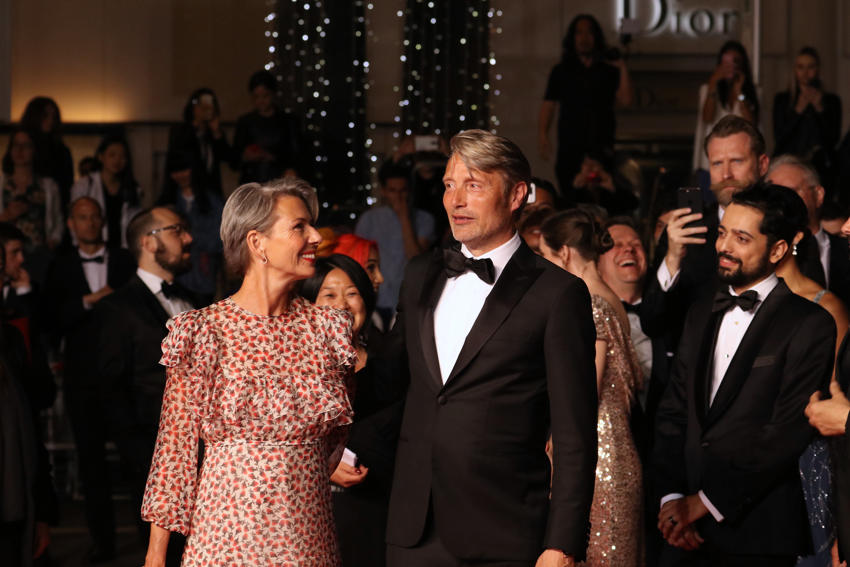 Cannes 2018: uno scatto di Mads Mikkelsen sul red carpet di Arctic