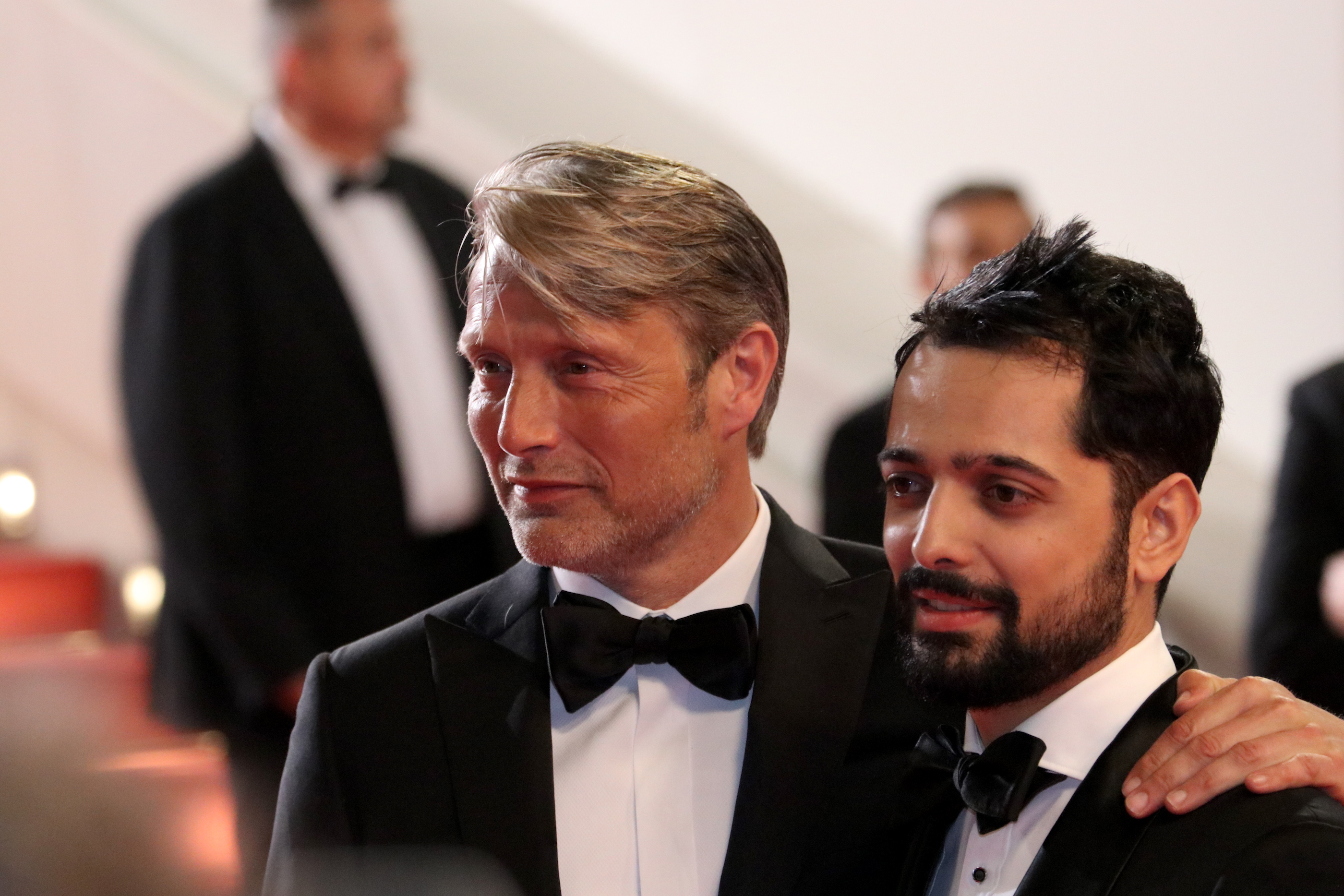 Cannes 2018: Joe Penna, Mads Mikkelsen sul red carpet di Arctic