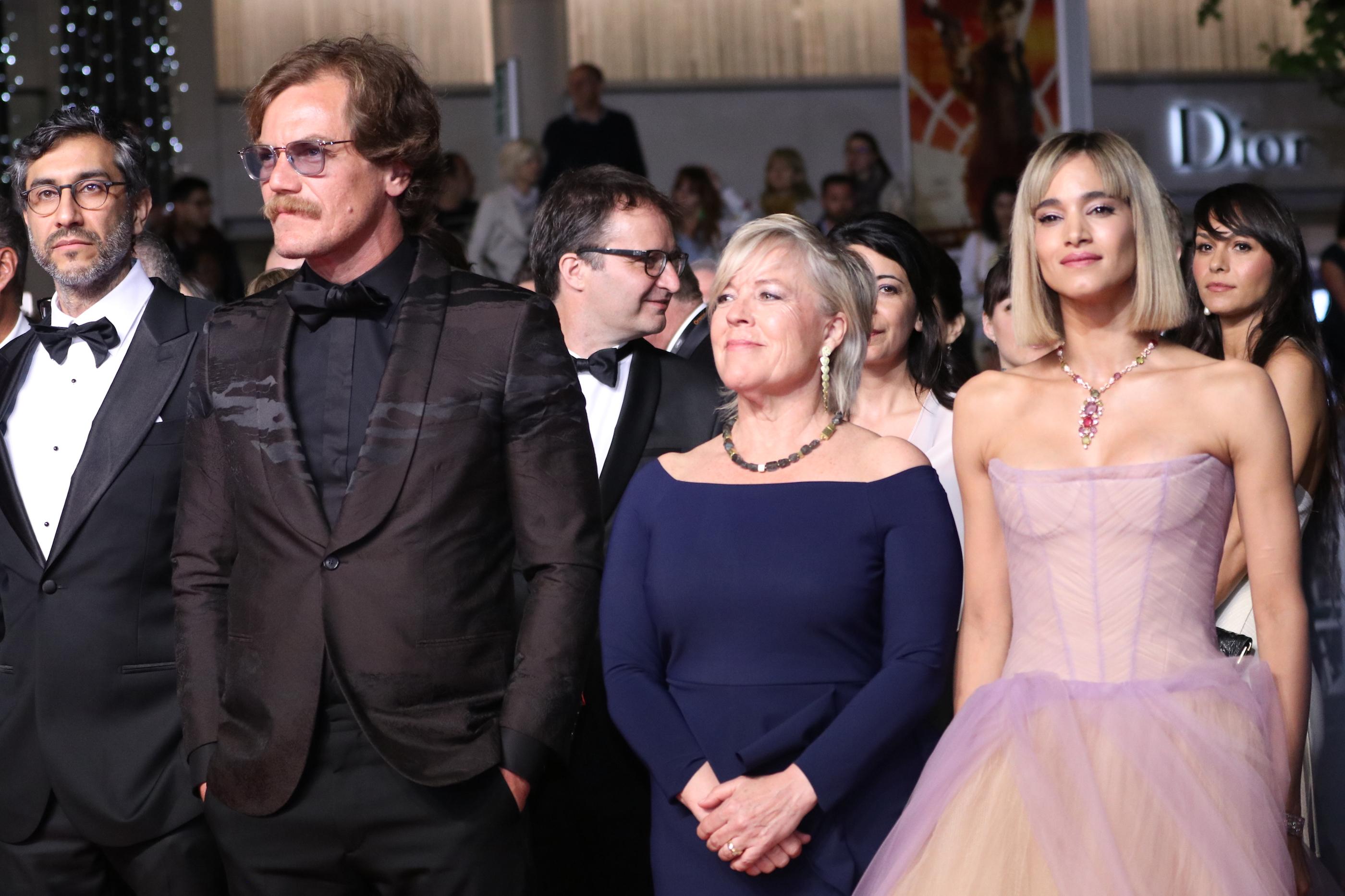 Cannes 2018: Sofia Boutella e Michael Shannon sul red carpet di Fahrenheit 451