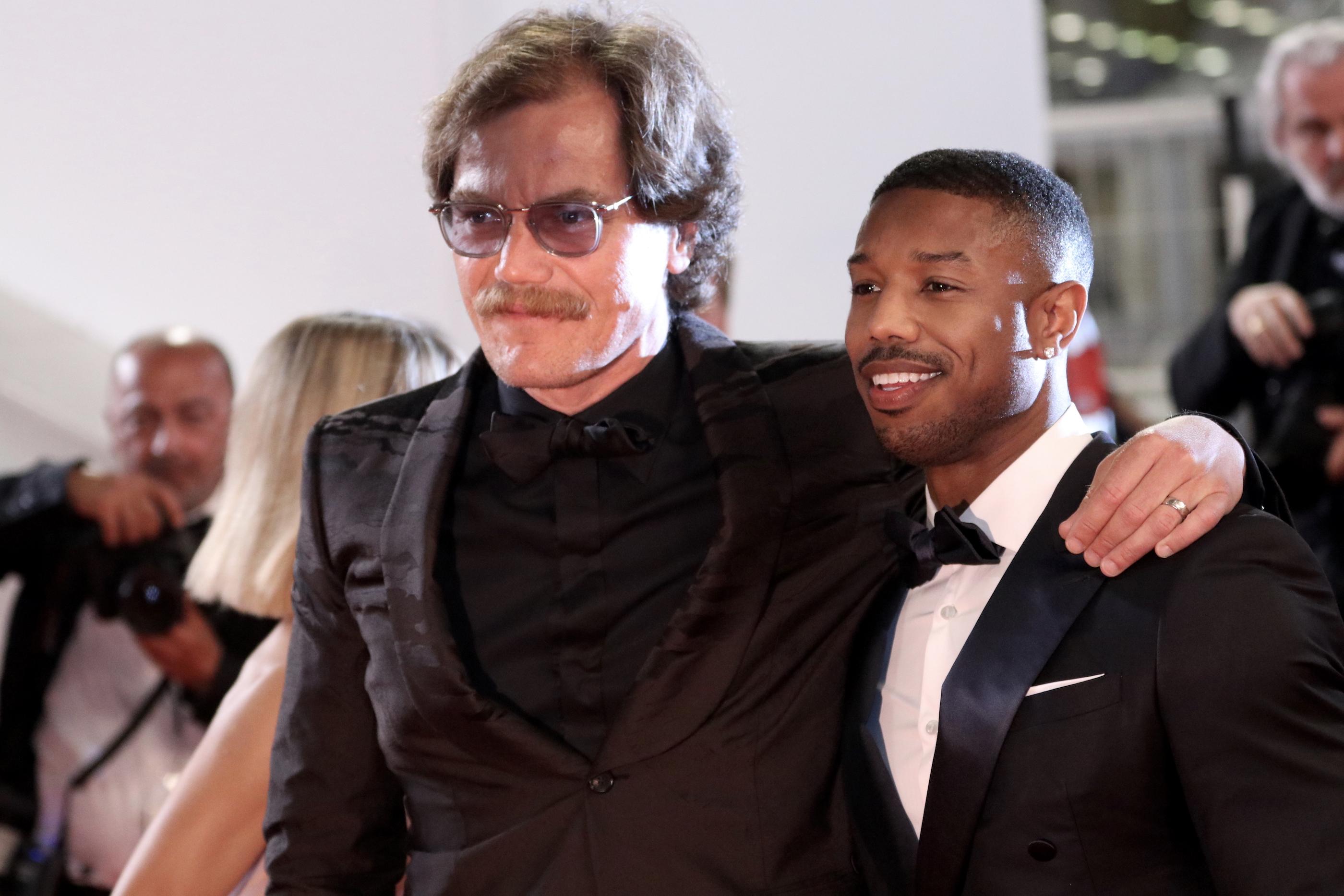 Cannes 2018: Michael B. Jordan e Michael Shannon sul red carpet di Fahrenheit 451