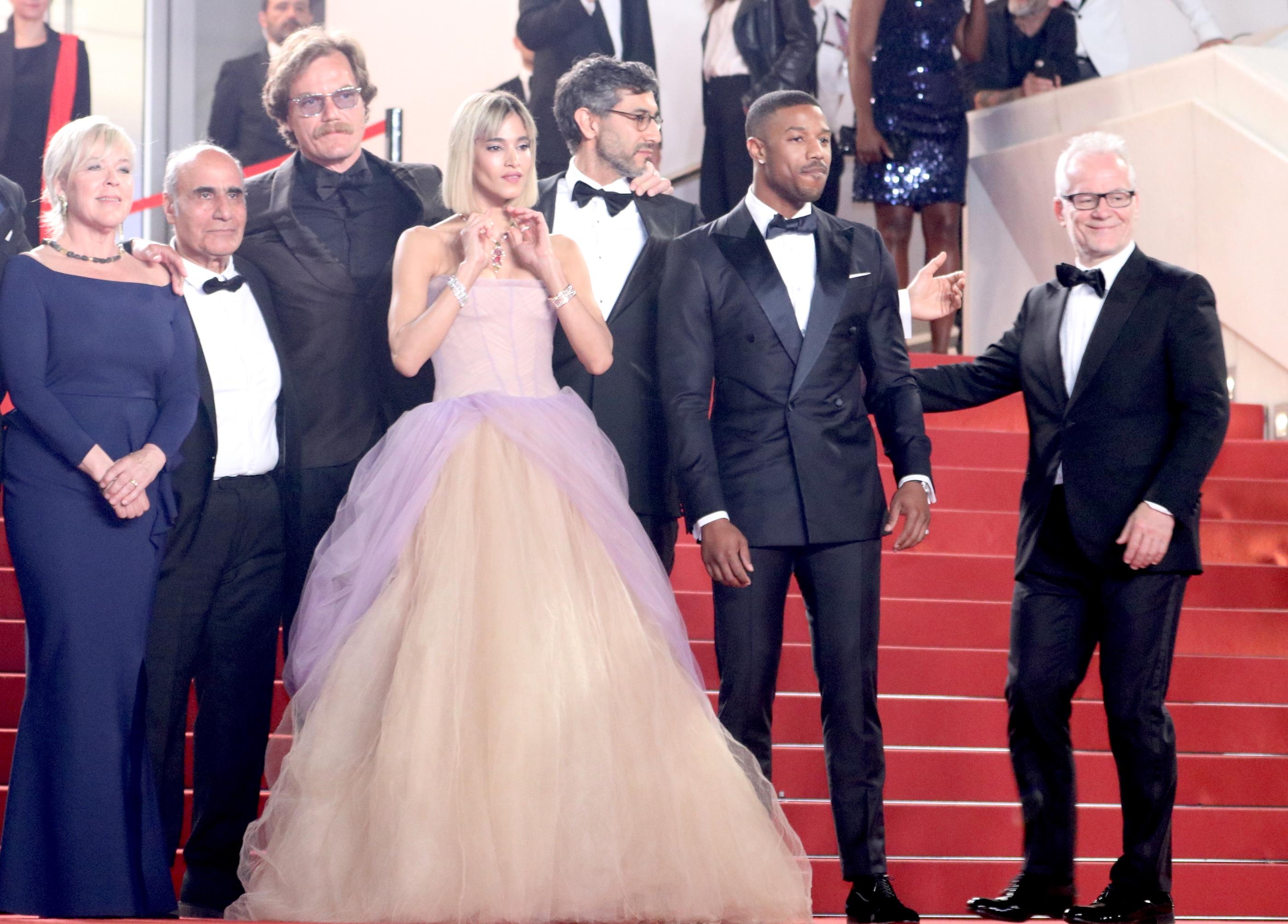 Cannes 2018: il cast sul red carpet di Fahrenheit 451
