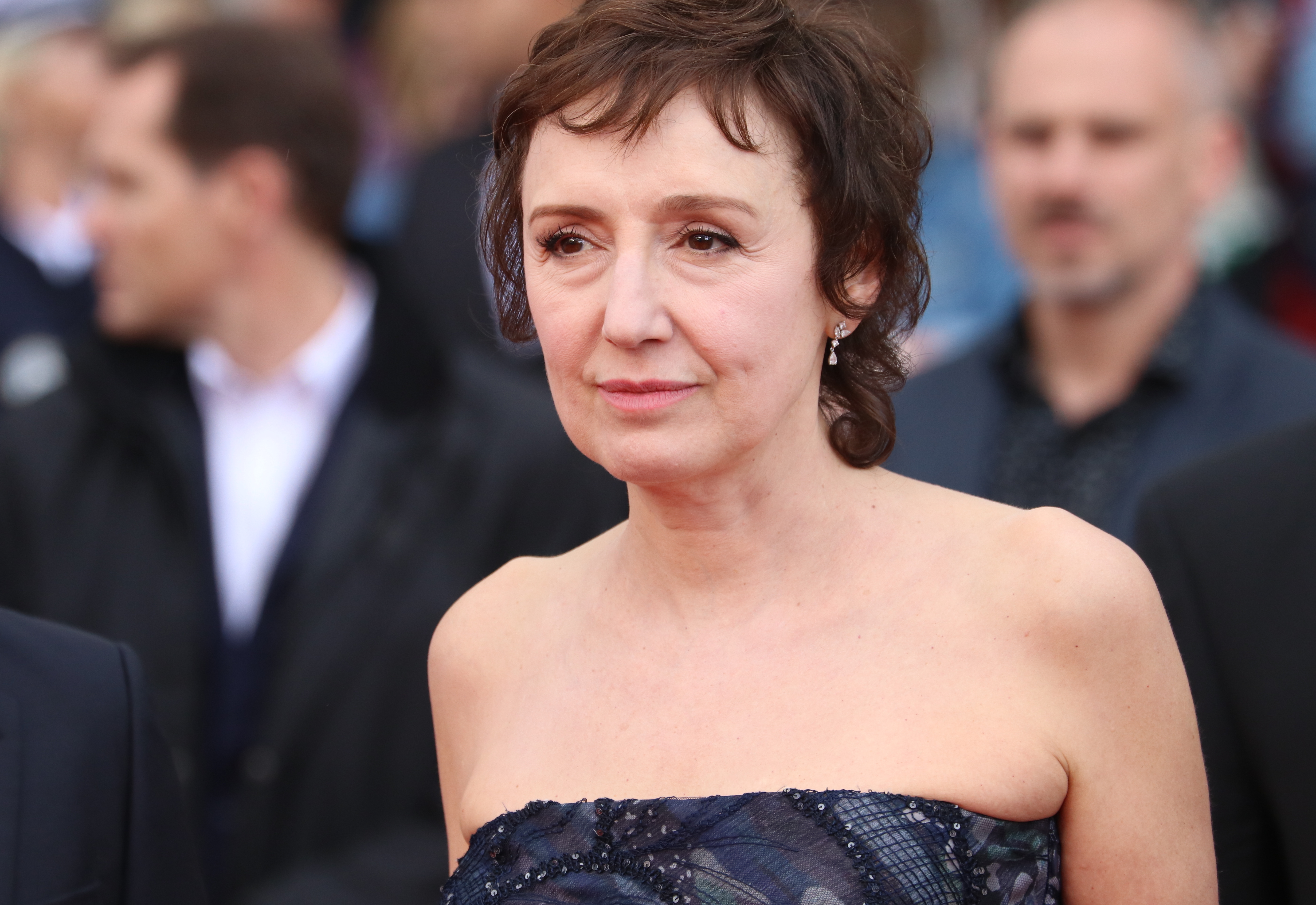 Cannes 2018: Nicoletta Braschi sul red carpet di Lazzaro Felice