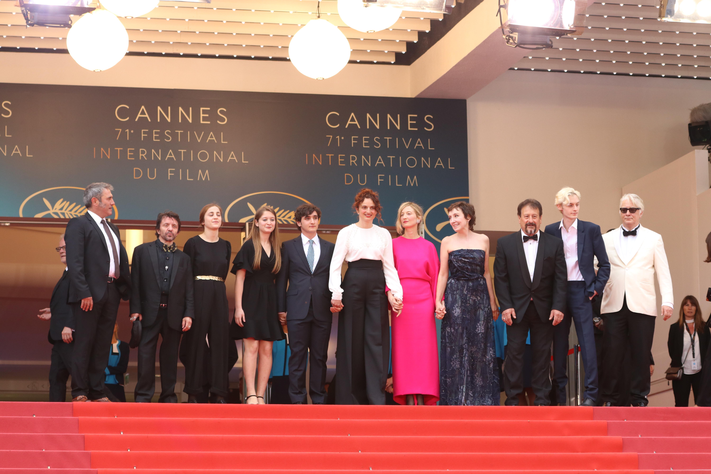 Cannes 2018: il cast sul red carpet di Lazzaro Felice