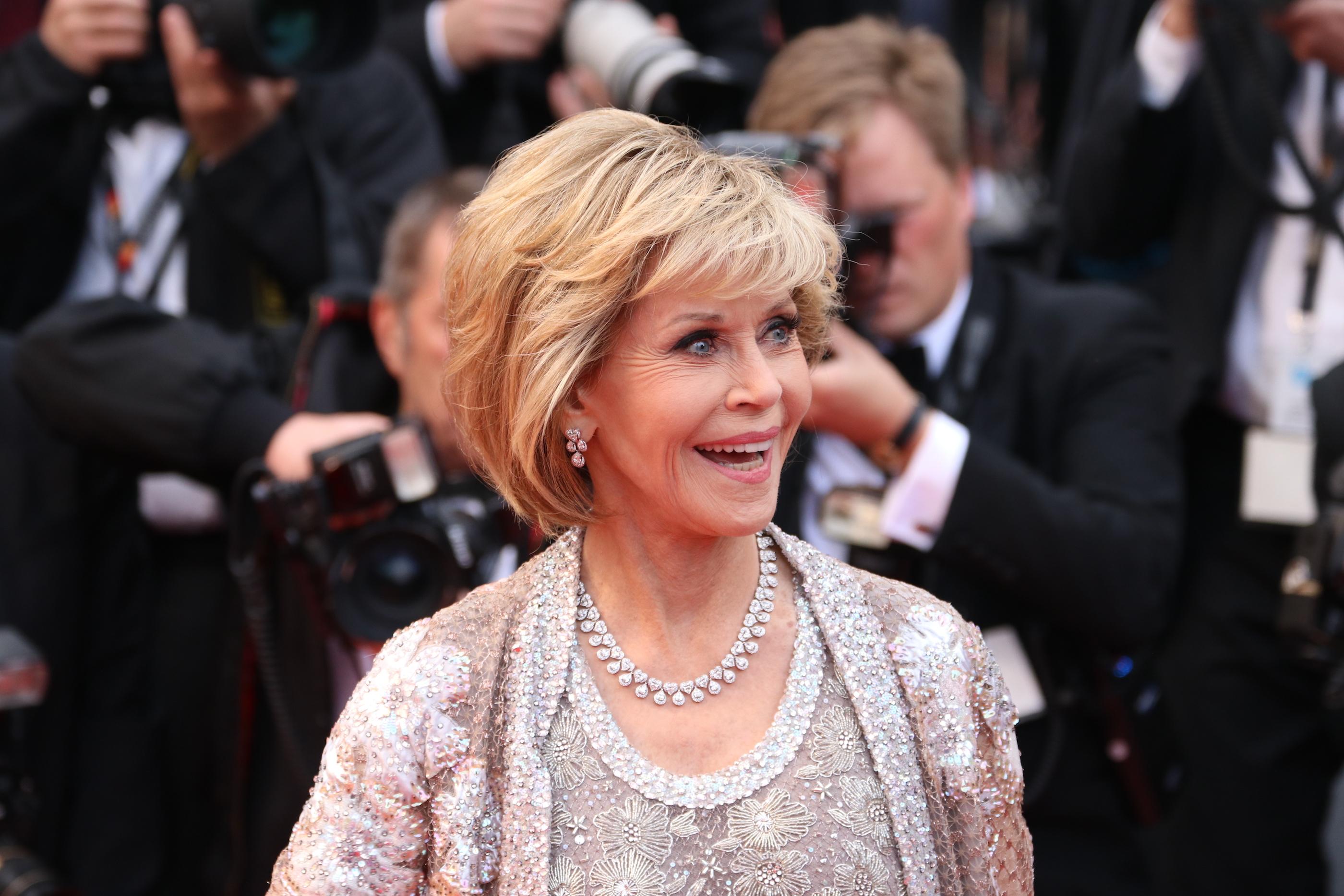 Cannes 2018: Jane Fonda sul red carpet di Blackkklansman