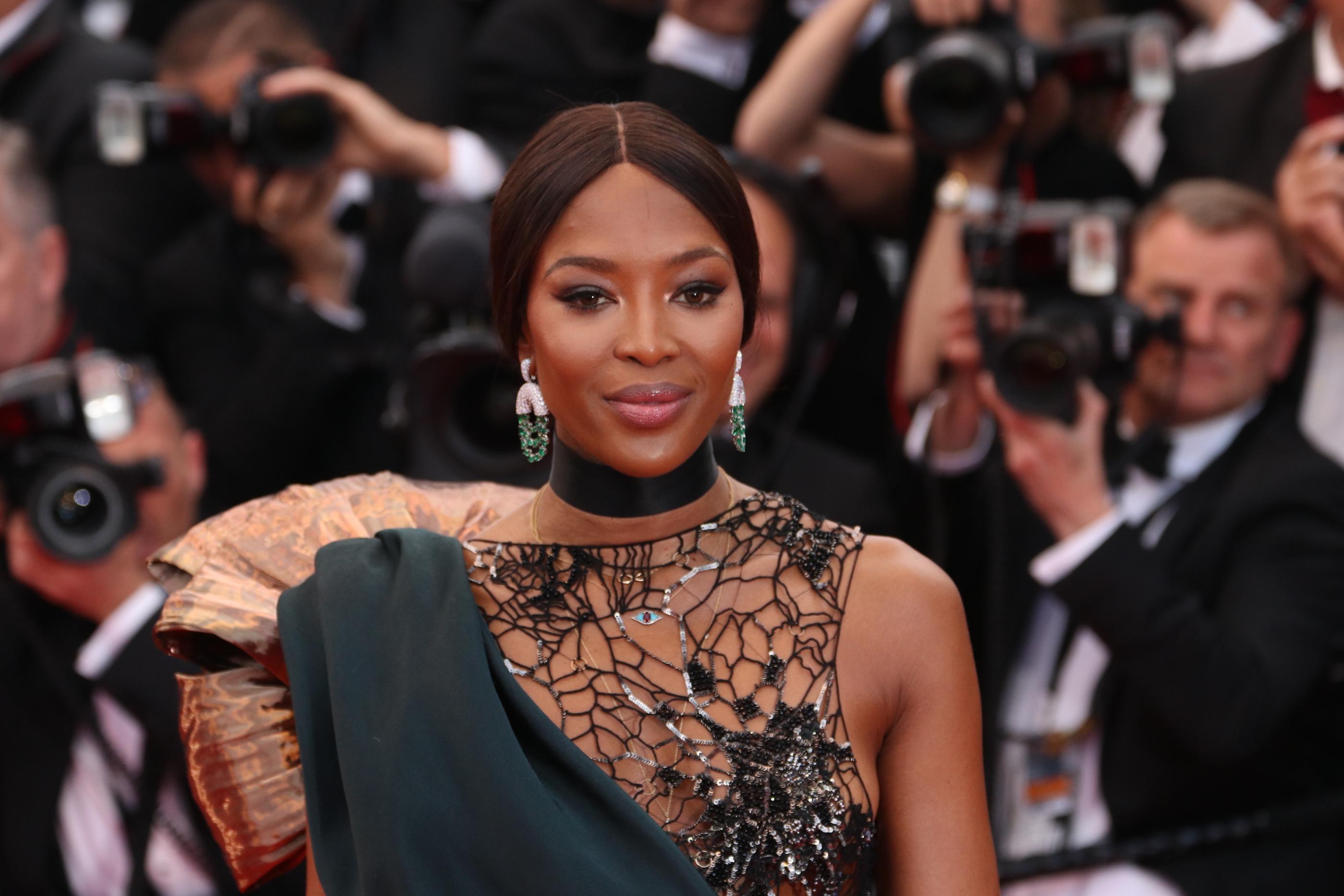Cannes 2018: Naomi Campbell sul red carpet di Blackkklansman