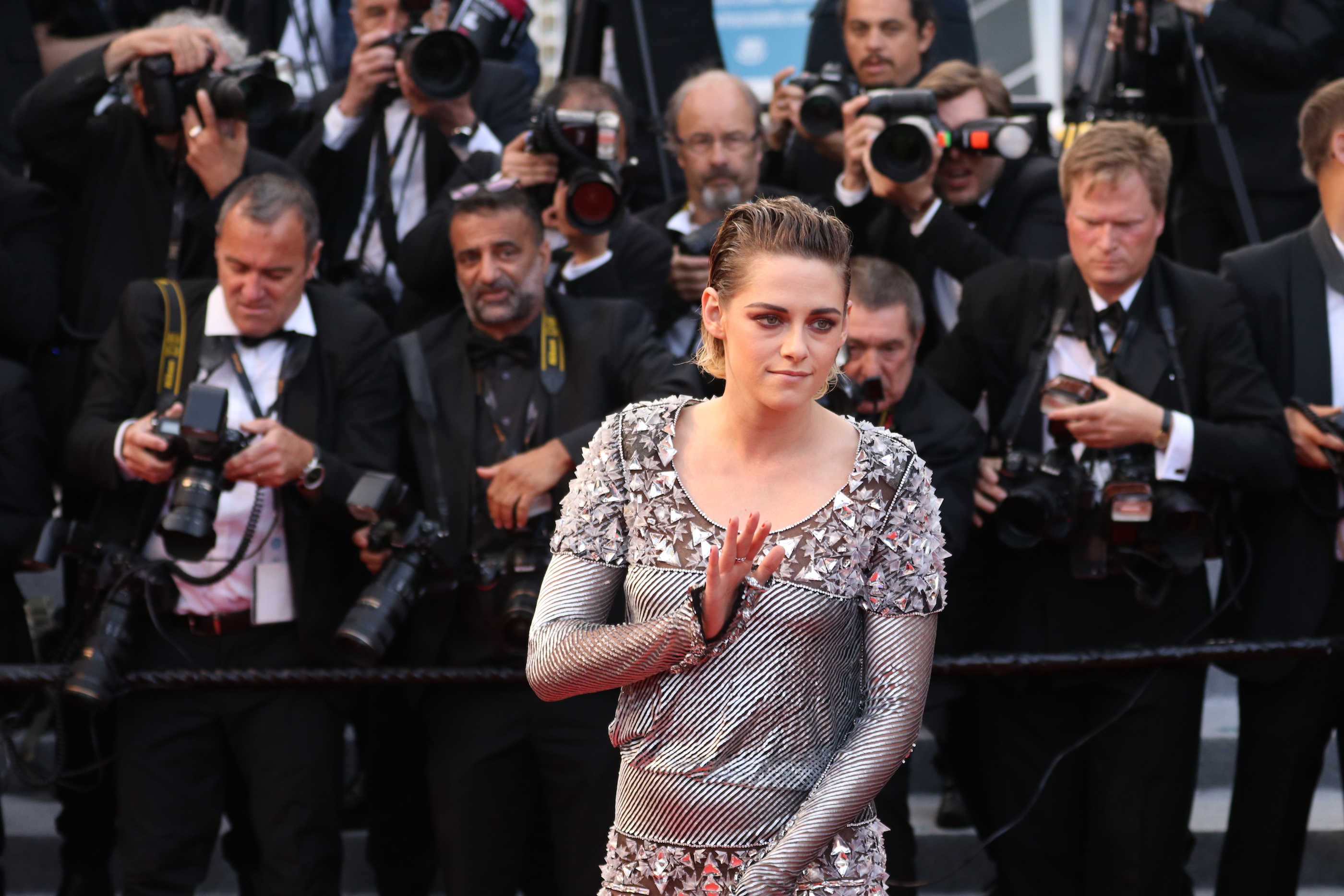 Cannes 2018: Kristen Stewart sul red carpet di Blackkklansman