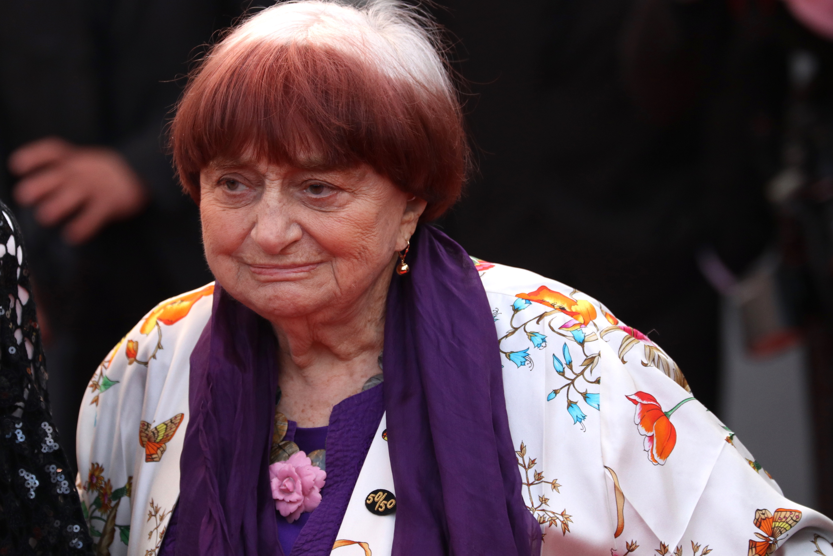 Cannes 2018: Agnès Varda sul red carpet di Blackkklansman