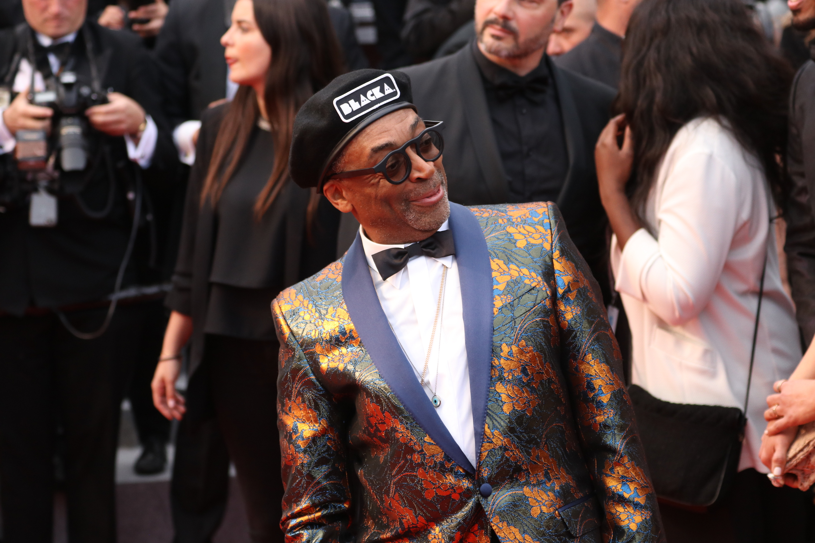 Cannes 2018: Spike Lee sul red carpet di Blackkklansman
