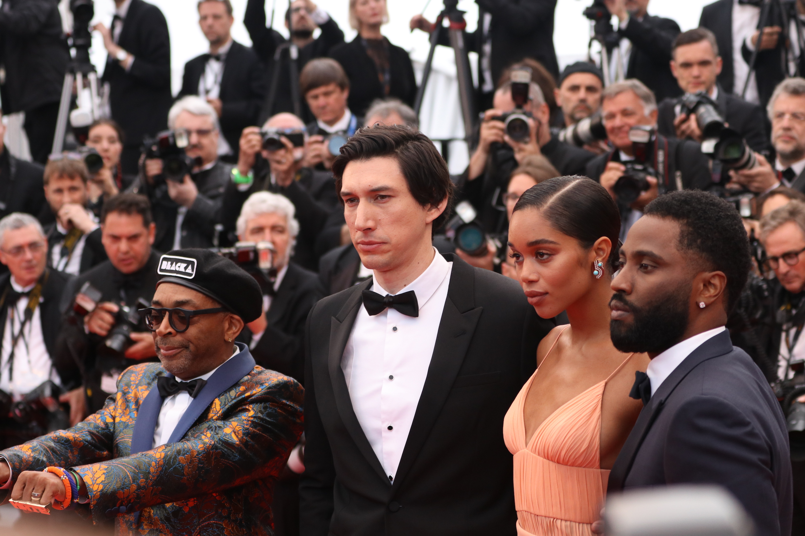 Cannes 2018: Spike Lee e Adam Driver sul red carpet di Blackkklansman