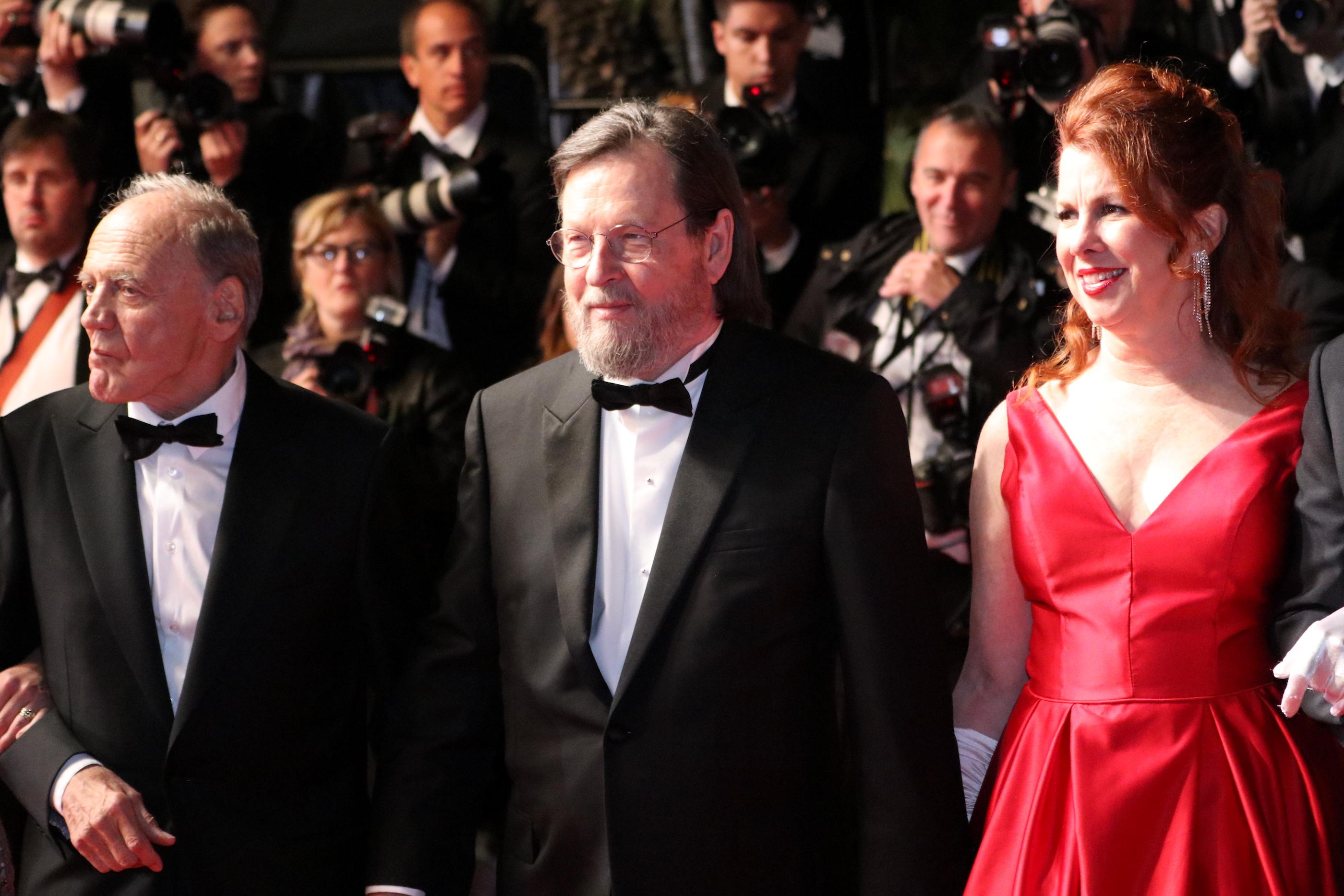 Cannes 2018: Lars von Trier e Bruno Ganz sul red carpet di The House Jack Built