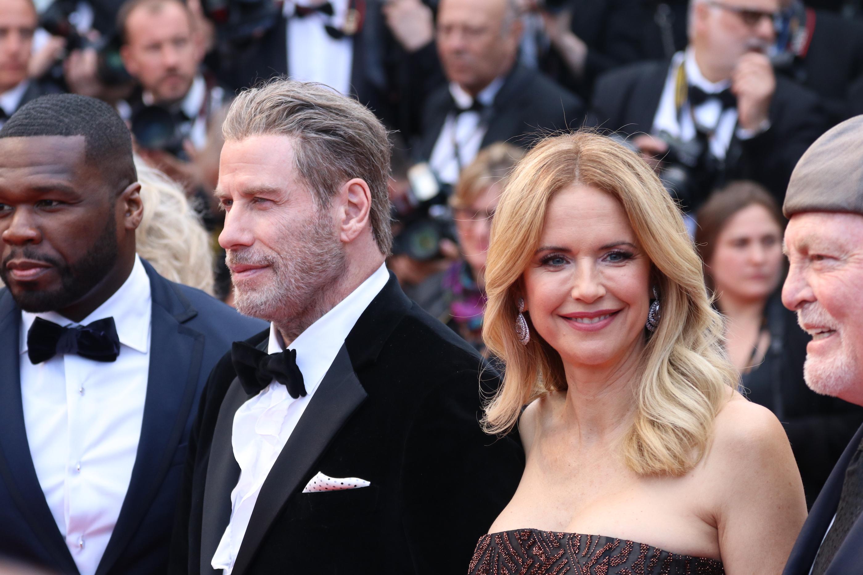 Cannes 2018: uno scatti di John Travolta sul red carpet di Solo: A Star Wars Story