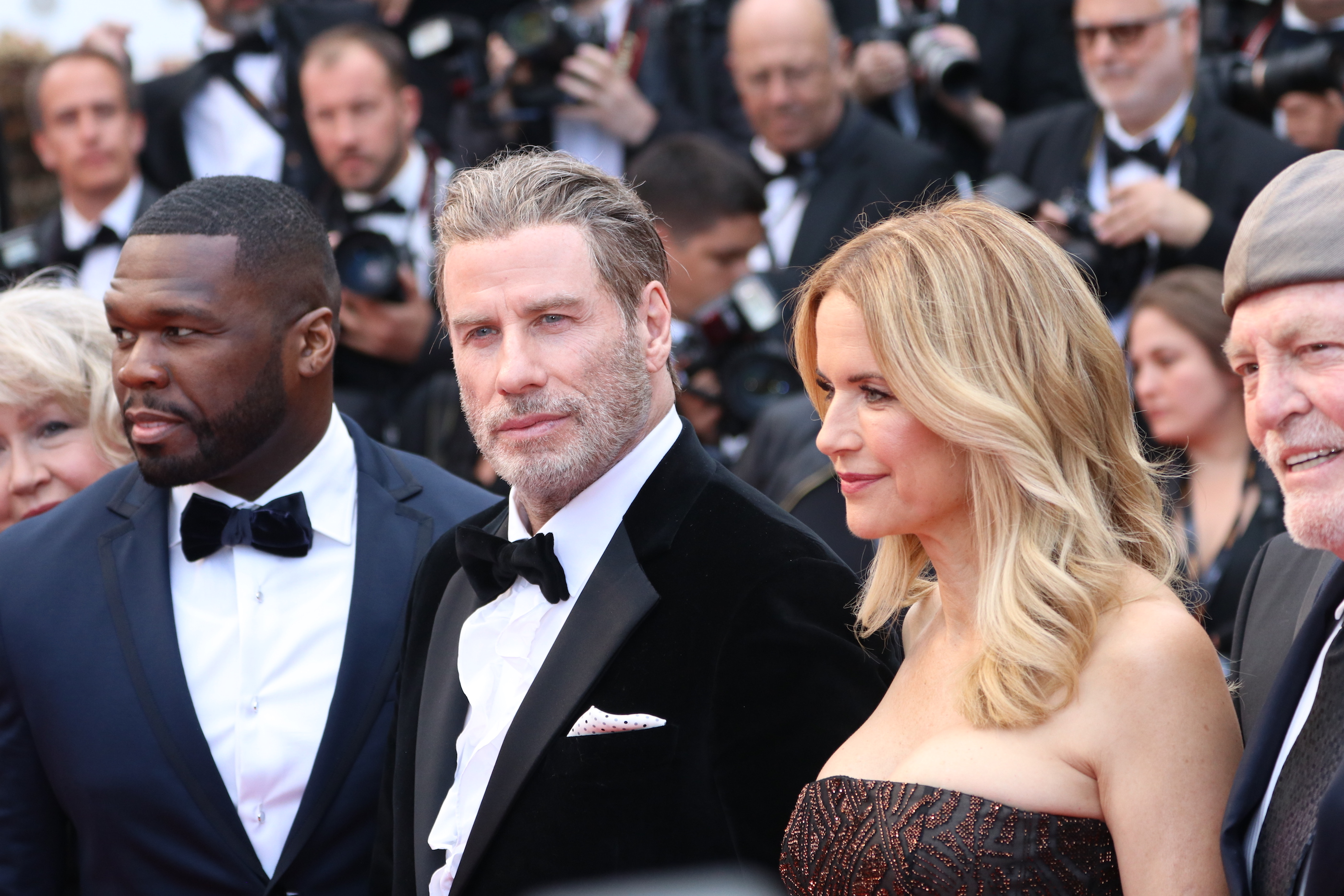 Cannes 2018: John Travolta sul red carpet di Solo: A Star Wars Story