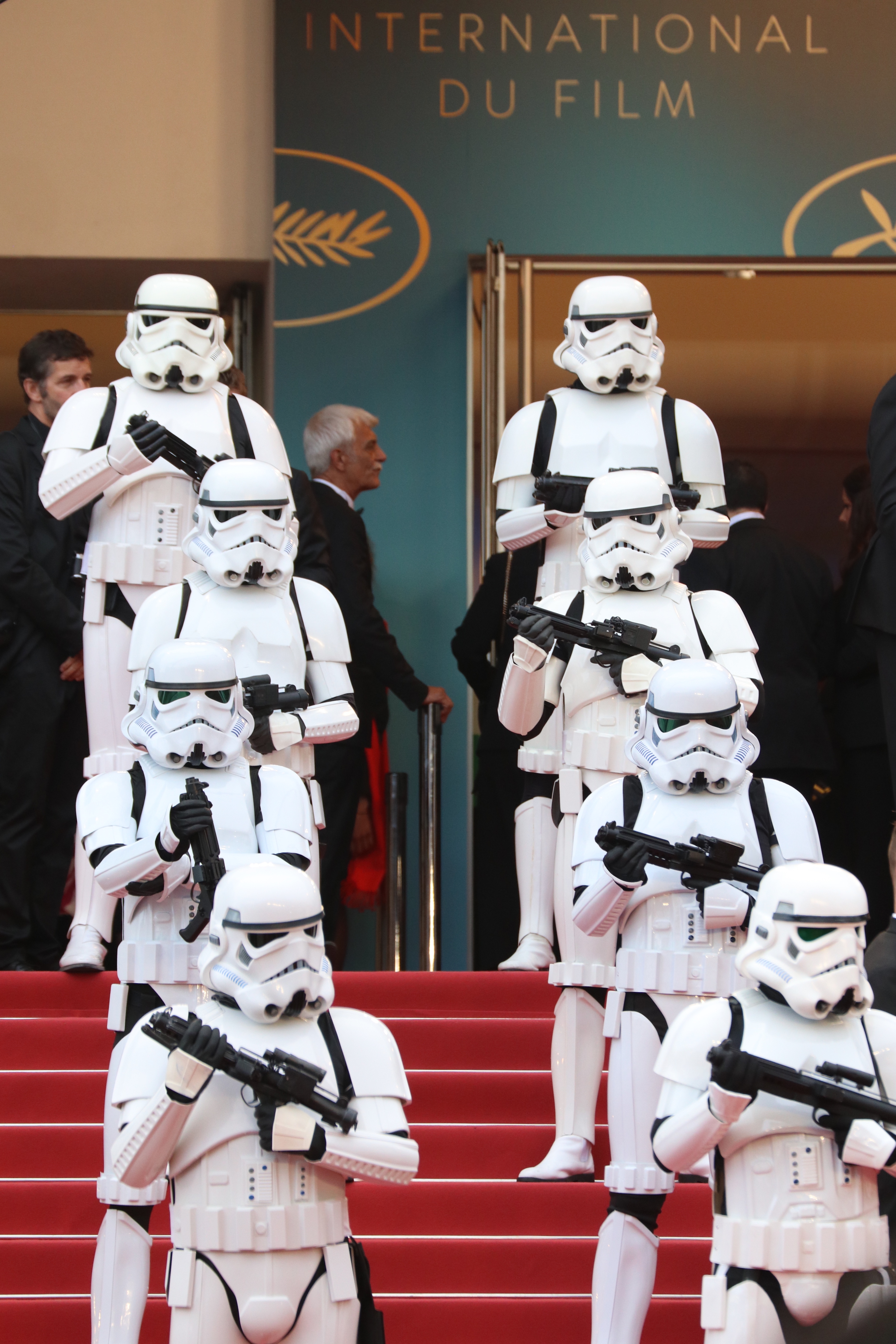 Cannes 2018: stormtrooper sul red carpet di Solo: A Star Wars Story