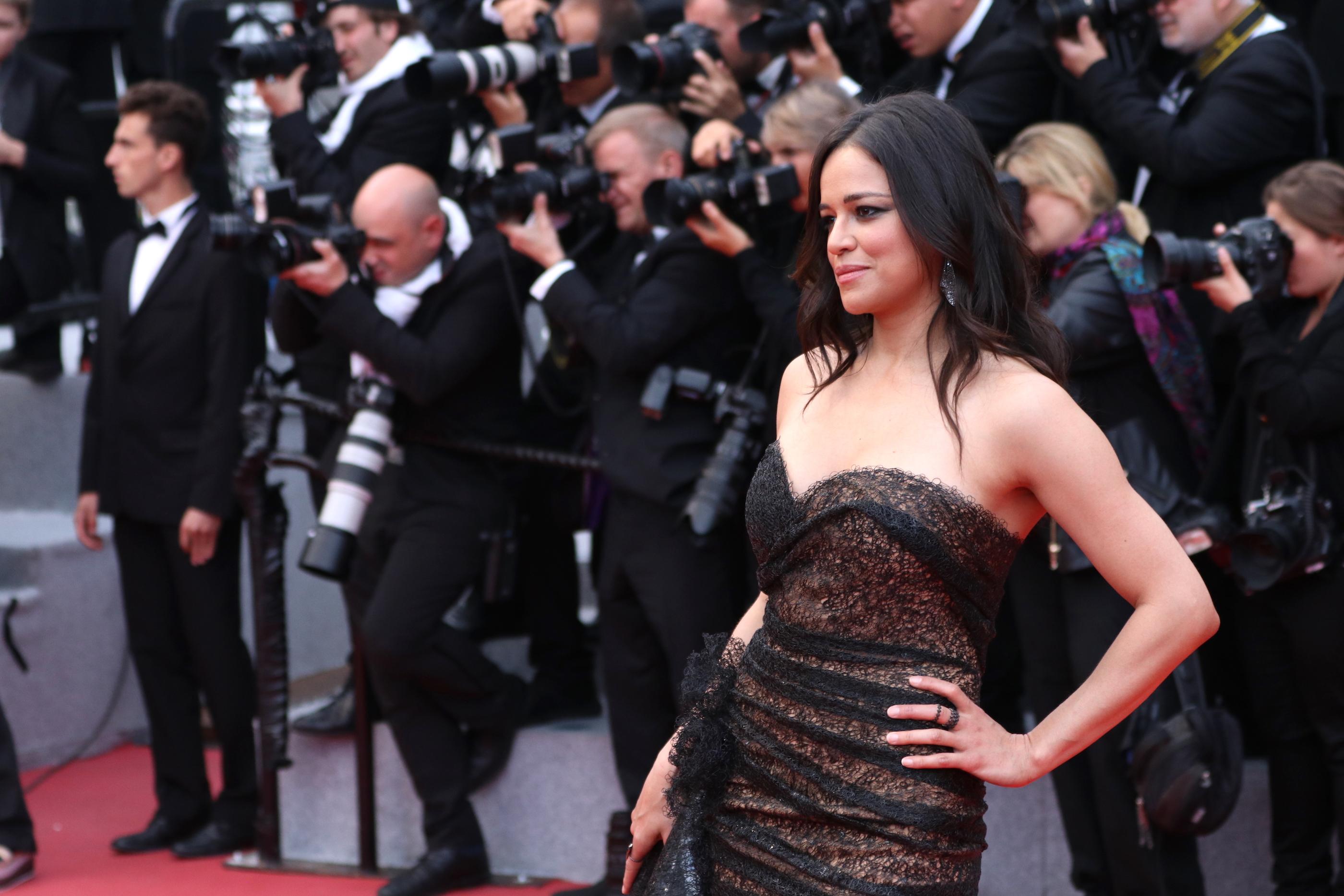 Cannes 2018: Michelle Rodriguez sul red carpet di Solo: A Star Wars Story