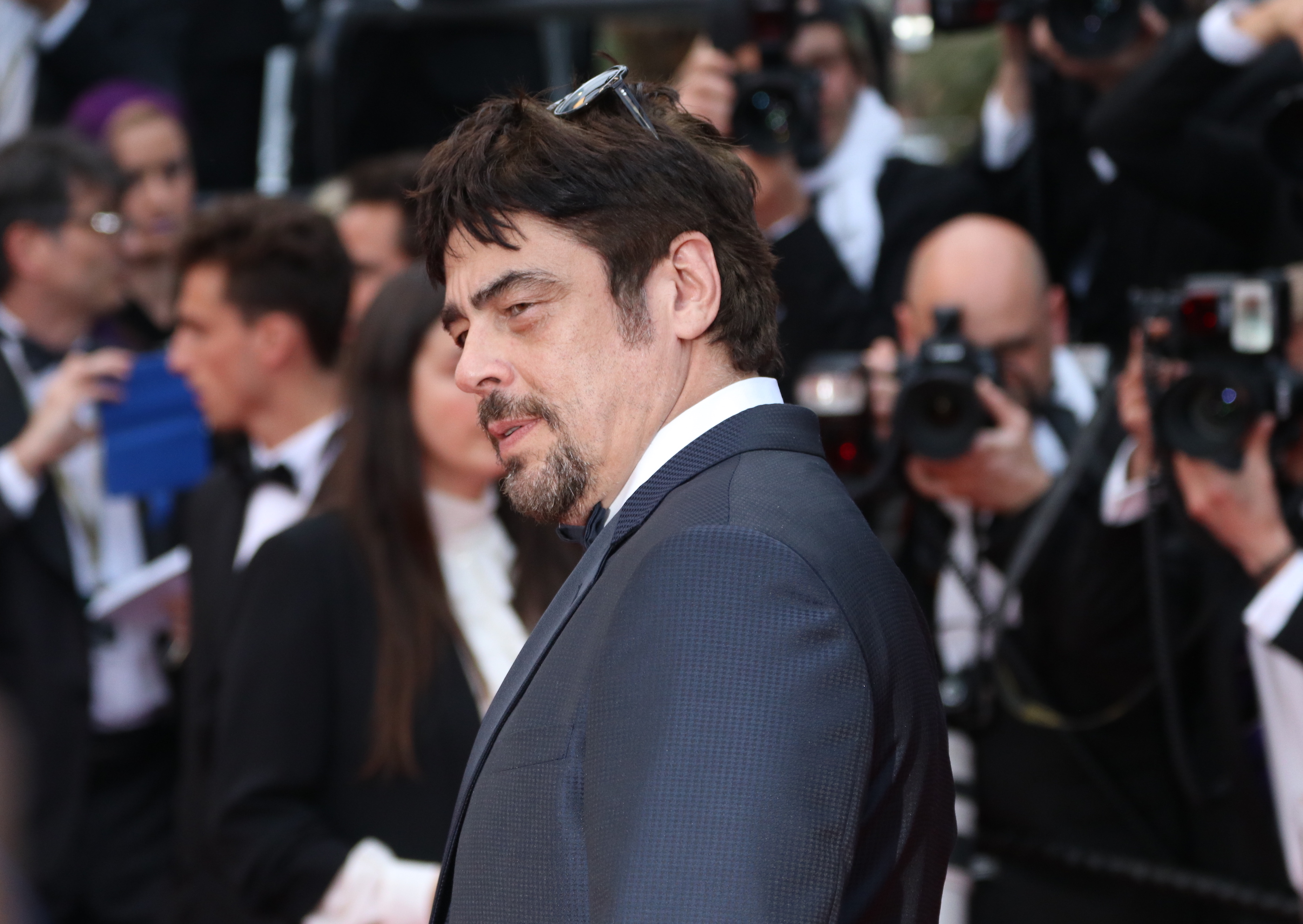 Cannes 2018: Benicio del Toro sul red carpet di Solo: A Star Wars Story