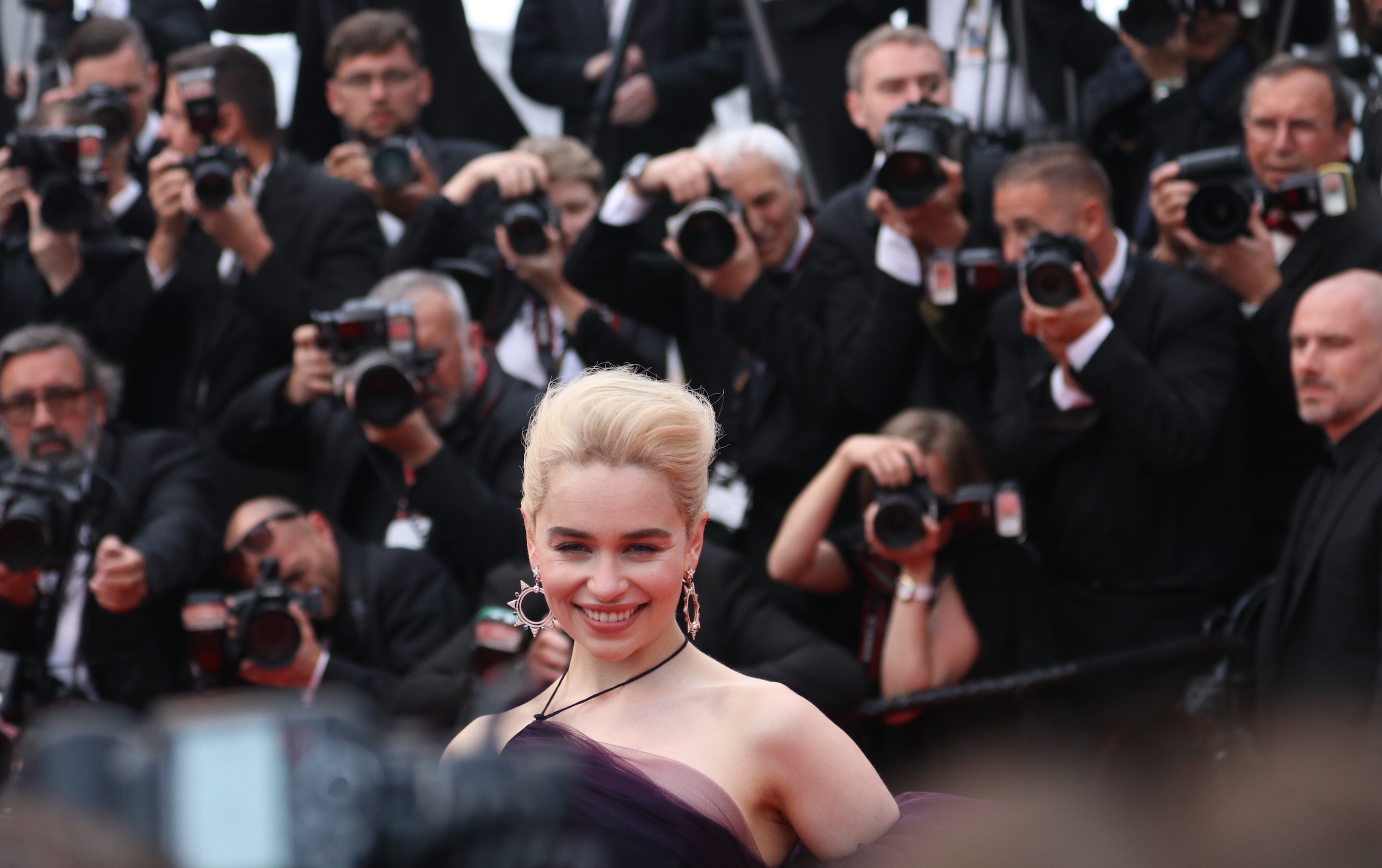 Cannes 2018: Emilia Clarke sul red carpet di Solo: A Star Wars Story