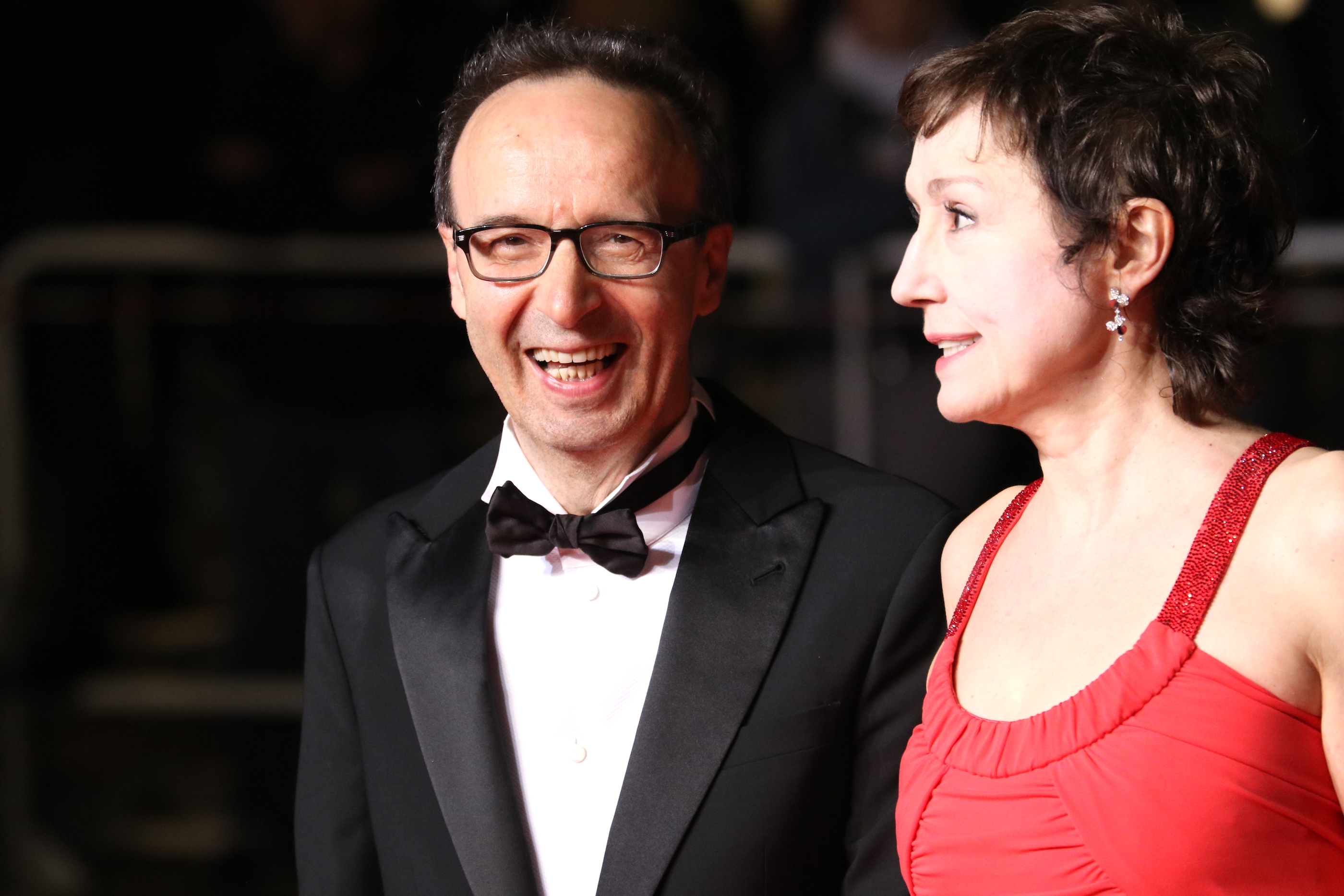 Cannes 2018: Roberto Benigni e Nicoletta Braschi sul red carpet di Dogman