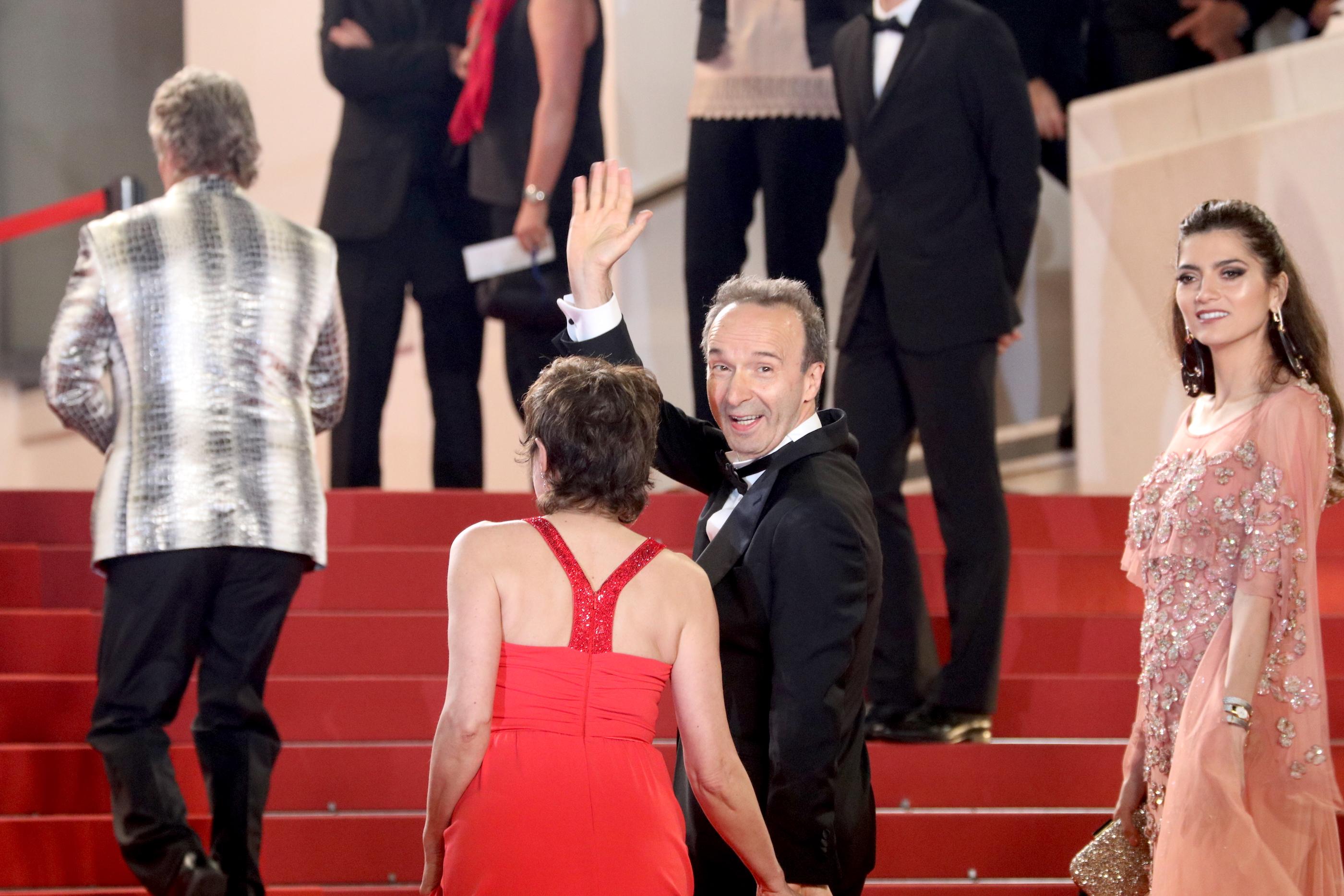 Cannes 2018: Roberto Benigni sul red carpet di Dogman