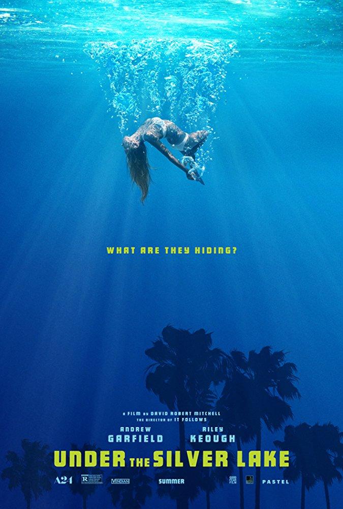 Under the silver lake: la locandina del film