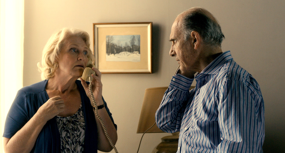 L'arte della fuga: Marie-Christine Barrault e Guy Marchand in una scena del film