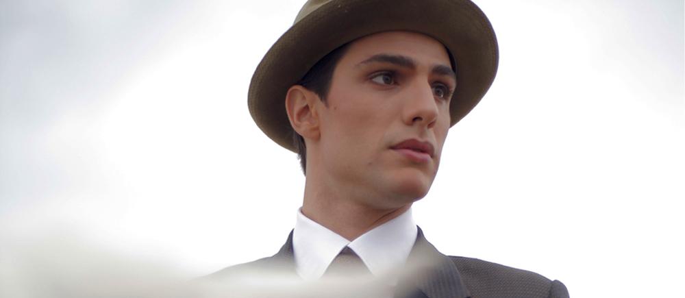 Rudy Valentino: Pietro Masotti in una scena del film
