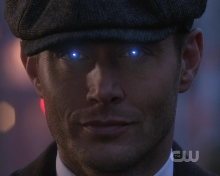 Supernatural: un primo piano di Jensen Ackles nell'episodio Let the Good Times Roll