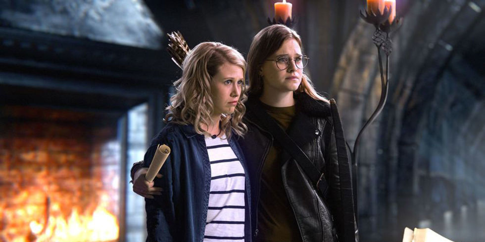 C'era una volta: Tiera Skovbye e Rose Reynolds  nell'episodio Leaving Storybrook