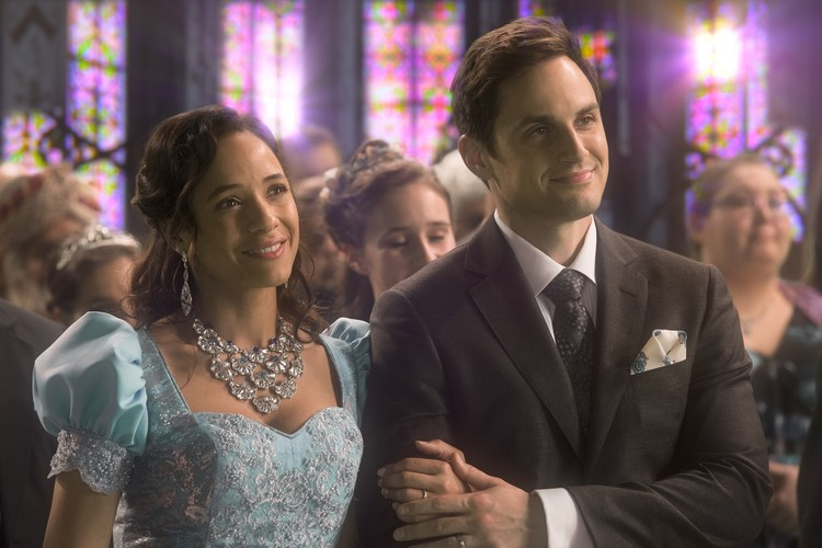 C'era una volta: Dania Ramirez e Andrew J. West nell'episodio Leaving Storybrook