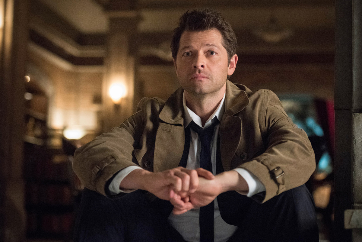 Supernatural: Misha Collins nell'episodio Let the Good Times Roll