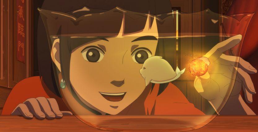Big Fish & Begonia: un'immagine del film d'animazione