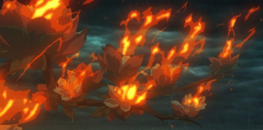 Big Fish & Begonia: un momento del film animato