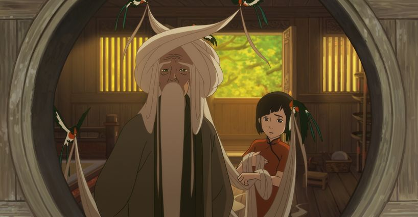 Big Fish & Begonia: una scena del film animato