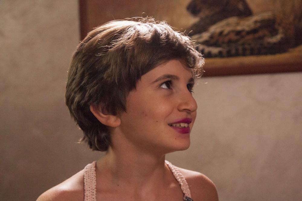 Rabbia furiosa - Er Canaro: Eleonora Gentileschi in una scena del film