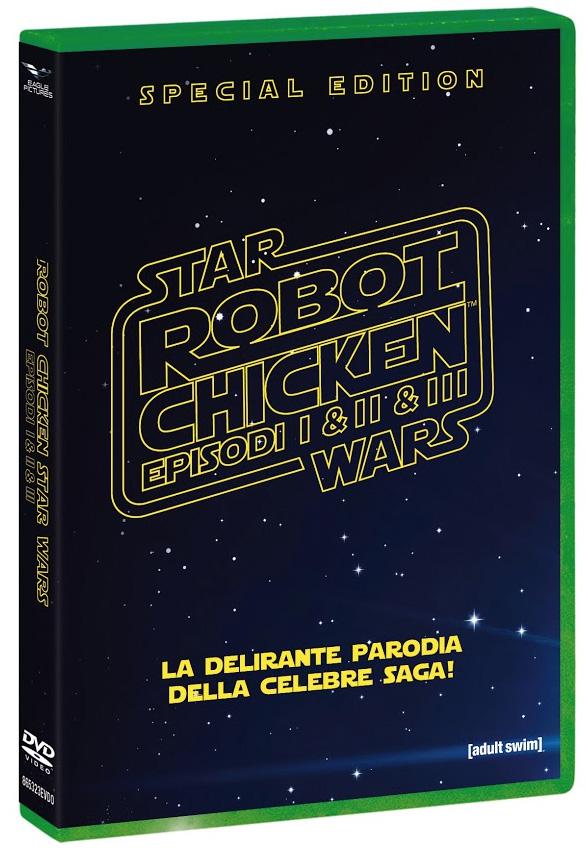 La cover di Robot Chicken: Star Wars